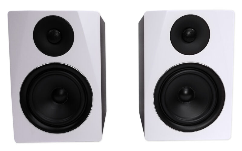 "Rockville APM6W 6.5"" 2-Way 350W Active/Powered USB Studio Monitor Speakers Pair"