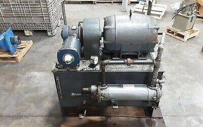Vickers 60 Gallon 15hp Chj0-23574-1 Hydraulic Power Unit V 134 20 460taw