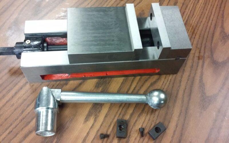"4"" ANG-LOCK  CNC VISE FOR CNC/BRIDGEPORT MILLING MACHINE #850-AP04"
