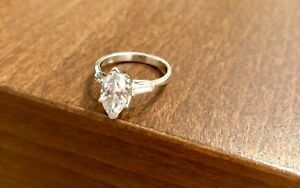 Costume Jewelry Engagement Ring