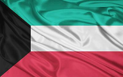 NEW 2ftx3ft KUWAIT KUWAITI FLAG