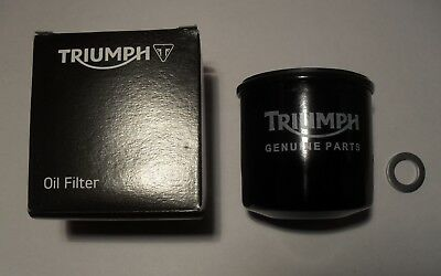 GENUINE TRIUMPH TIGER 1050 TIGER SPORT OIL FILTER WITH SUMP PLUG WASHE