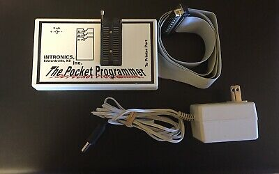 Pocket Programmer Eprom Chip Burner Pocket Programmer Intronics
