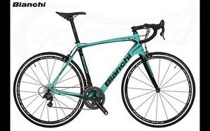Bianchi Infinito CV Ultegra 2018 $6199RRP Concord West Canada Bay Area Preview