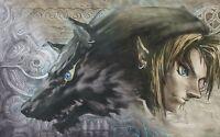Poster A3 The Legend Of Zelda Twilight Princess / Link 01 -  - ebay.es