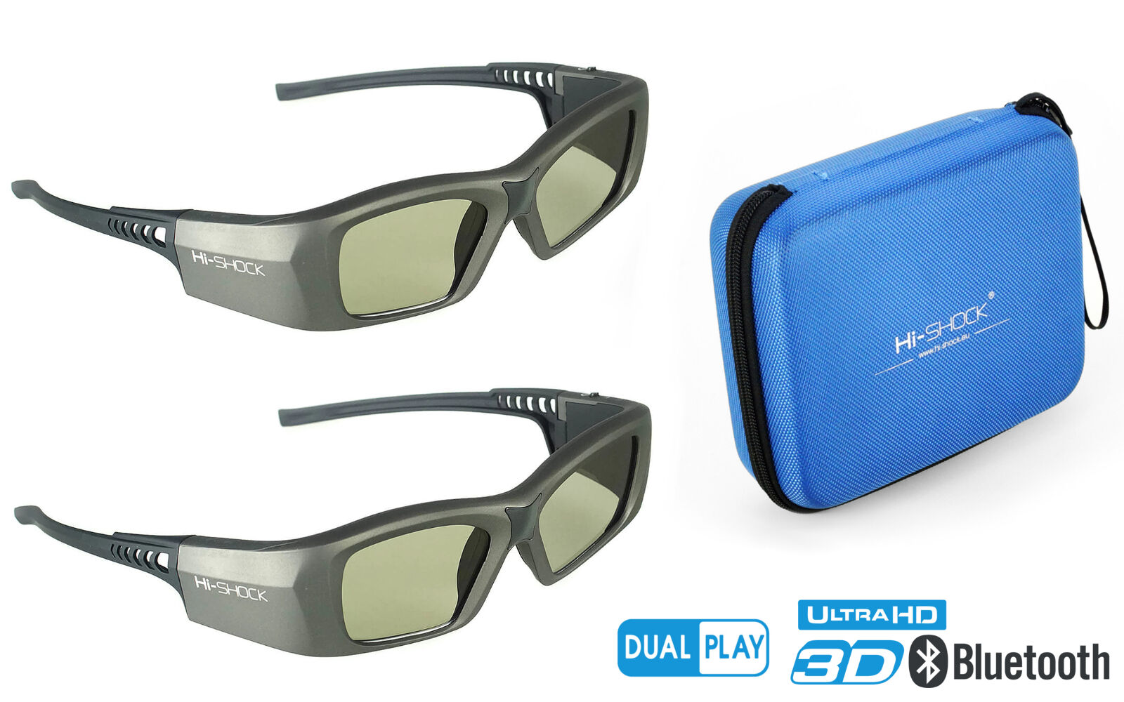 2x 3D Brille