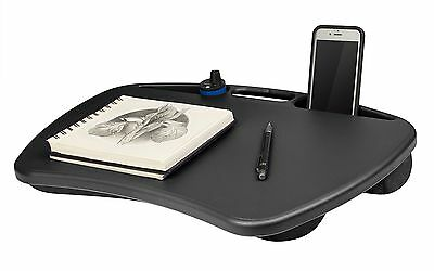 """Portable Laptop Lap Desk Table Bed Tray Notebook Cooling Pad 15"""" Computer Stand"""