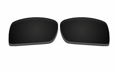New Black Polarized Replacement Lenses for Oakley Gascan Sunglasses