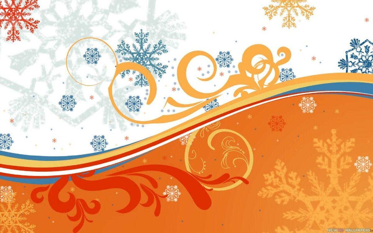 Узоры на новогодние открытки
