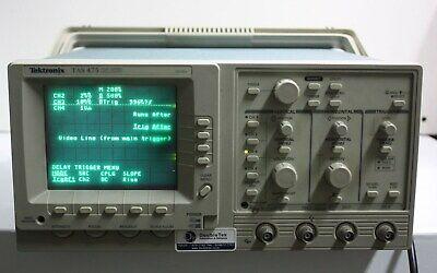 Tektronix Tas475 Oscilloscope 4ch 100mhz