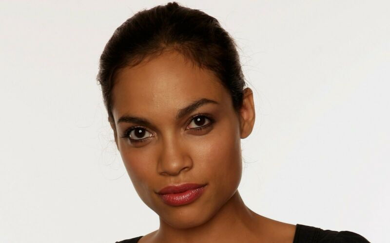 Rosario Dawson With Hair Tied 8x10 Photo Print