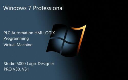Industrial Automation PLC LOGIX Programming software Studio PRO 5000 V30 VMWARE
