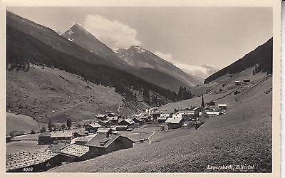 Postkarte - Lanersbach / Zillertal