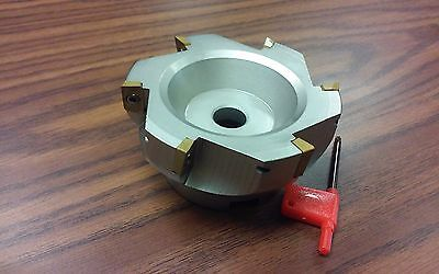 4 90 Degree Indexable Face Shell Millface Milling Cutter Apkt Z-2526-4030