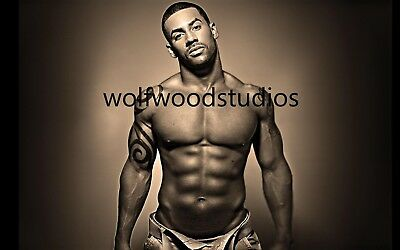 HOT SEXY AFRICAN AMERICAN BLACK BUFF MUSCULAR MALE MODEL PUBLICITY PHOTO ](Hot Male Movies)