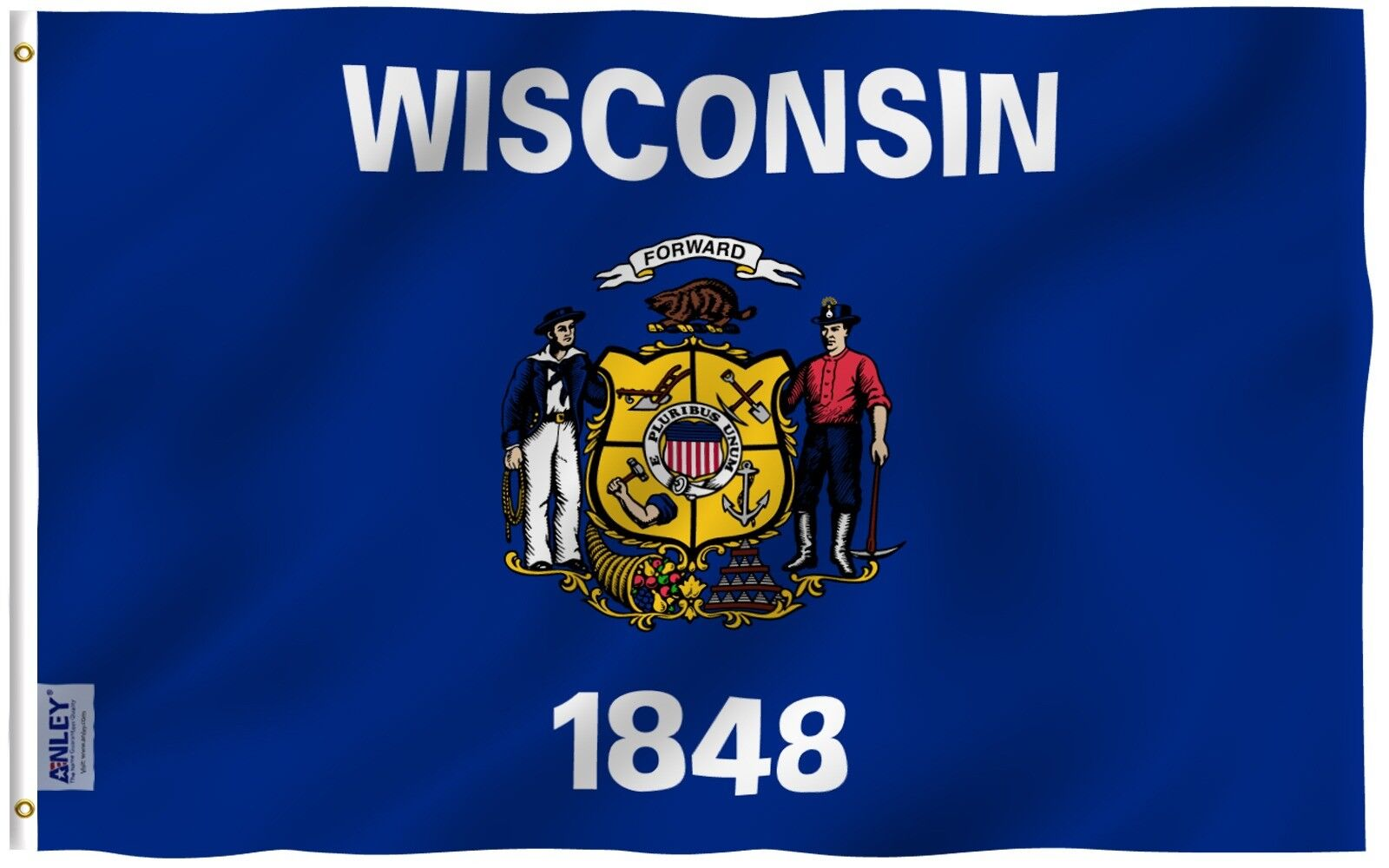 fly breeze 3x5 foot wisconsin state flag