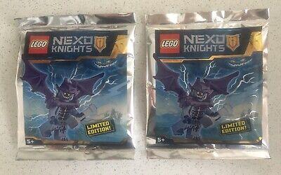 2 X LEGO ® NEXO KNIGHTS/ 271716/ GARGOYLE/ LIMITED EDITION/ NEW FOIL