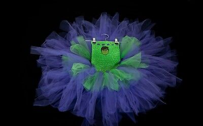 Incredible Hulk Tutu Dress Age 8-9 All Ages Available Handmade For Every Sale