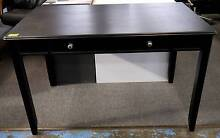 New Black Classic Signature Timber Desk With Storage Drawer Melbourne CBD Melbourne City Preview