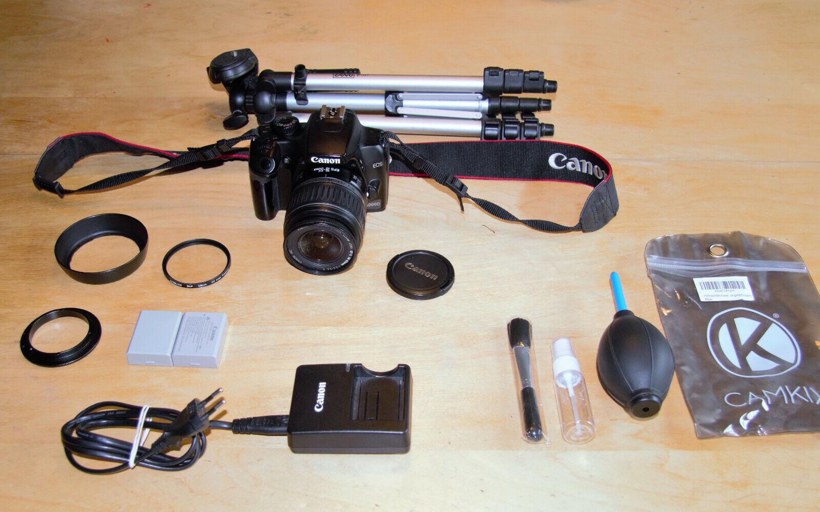 CANON EOS 1000D Spiegelreflexkamera Kamera Spiegelreflex Digital Fotokamera