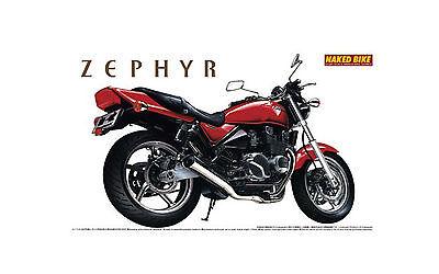 Kawasaki Zephyr ZR400C4 Modellbausatz 1/12 Aoshima 041659