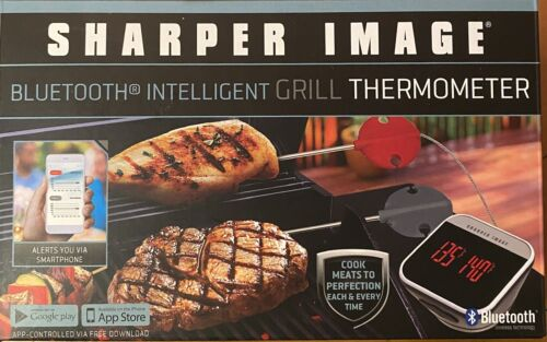 Grill Meat Thermometer Bluetooth Intelligent Sharper Image