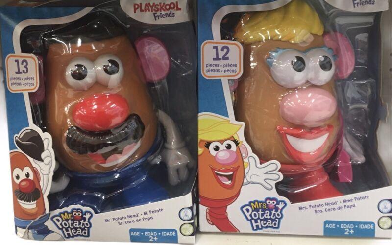 Playskool Friends! Mr. & Mrs. Potato Head Classic Retro Toys Complete Set! NEW!!