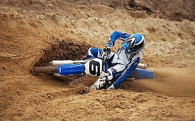 "MOTOCROSS DIRT BIKE JUMP SPORT PHOTO ART PRINT POSTER 21""x13"" 052"