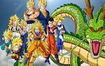 Seven dragon ball childhood