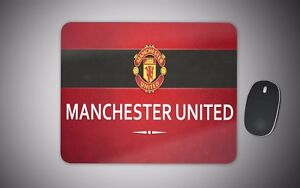 Manchester united mouse mat gaming laser non slip fabric rubber mufc football