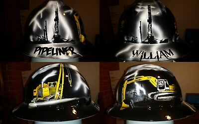 Pipeliners themed hard hat (Themed Hard Hats)
