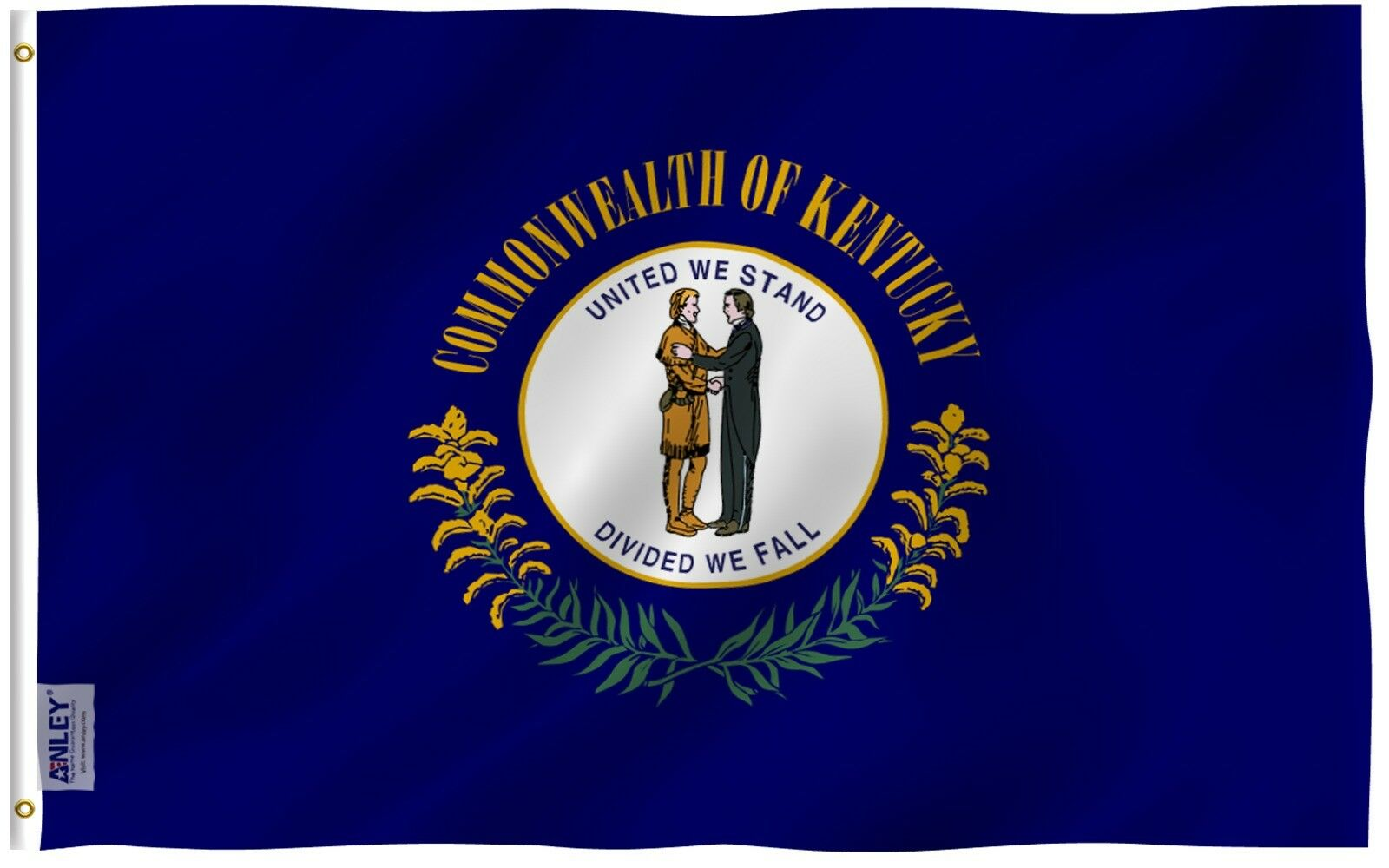 Anley |Fly Breeze| 3x5 Foot Kentucky State Flag, Kentucky KY