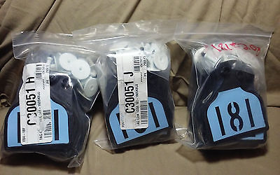 Ear Tags Cow Ezcee Cal No Fade Out 3 Pack - Size 3 14 X 4- 141 - 200