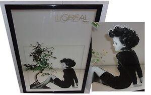 Tres rare miroir grand format promo l 39 oreal paris vintage for Miroir un paradis