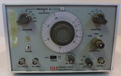 Krohn-hite 5100b Function Generator Tested And Working