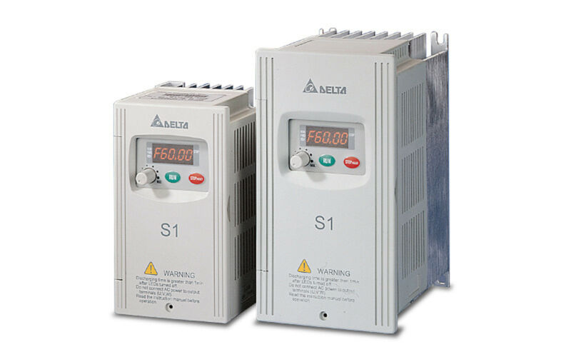 Delta Vfd-002s23a Frequency Inverter Drive 3ph 1/4hp 230v