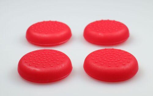 4 x Grip Thumbstick Joystick Kappen für PS4 Playstation 4 Controller rot