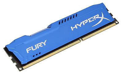 4GB Kingston HyperX Fury PC3-12800 DDR3 1600MHz CL10 Memory Module - Blue, usado segunda mano  Embacar hacia Argentina