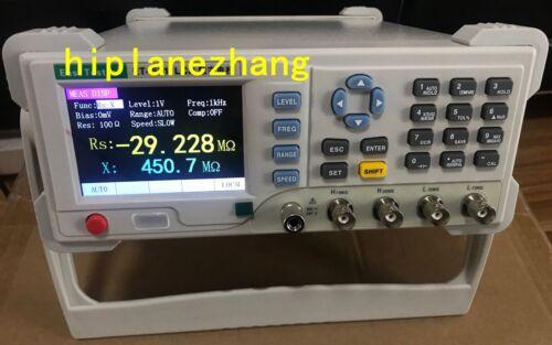 LCR Meter 10Hz-10KHz Step 1Hz L/C/R/Z/X/D/Q/θ/ESR/DCR/Bias 3.5