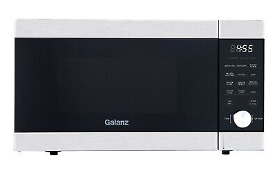 Galanz Expresswave 1.1 Cu.ft Sensor Cooking Microwave Ovenstainless Steel