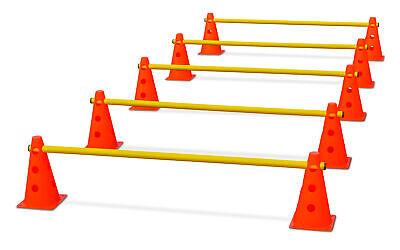 Steckhürden-Set für Koordinationstraining -  orange-gelb Koordinationshürden