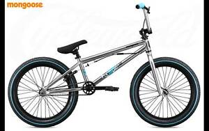 Freestyle BMX Mongoose Legion L40 (Silver) RRP $359 Concord West Canada Bay Area Preview