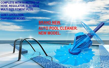 AUTOMATIC POOL CLEANER VACUUM SWIMMING AUTO CLEANERS PUMP FILTER