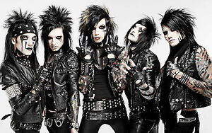 BLACK VEIL BRIDES POSTER 8 - A3 SIZE 297X420MM - BUY2GET1FREE / ANDY BIERSACK