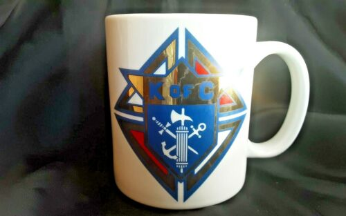 KNIGHTS OF COLUMBUS CENTENNIAL ELDER COUNCIL 69 MUG CUP VINTAGE 1993 FRATERNAL