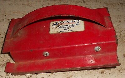 Amcraft Red 45 V Vee Kerfing Tool Duct Board Hvac Heating Air Conditioning