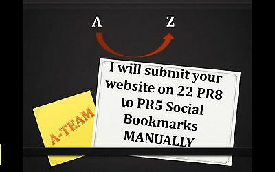 Bookmarks Websitesubmit Your Website On 22 Pr8 To Pr5 Social Bookmarks Manually