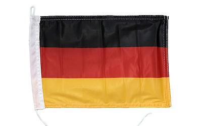 Deutschland Flagge 20 x 30 cm Deutschlandfahne Fahne Bootsfahne Flaggenstock