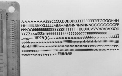 New Letterpress Type - 18 Point Kabel (Sans Serif) Bold