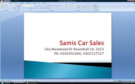 Samis Car Sales